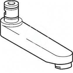 HANSA - Medica Výtok komplet, 96 mm (59910419)