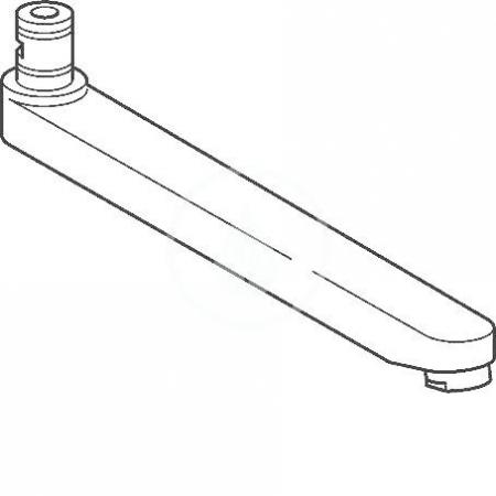 HANSA - Medica Výtok komplet, 170 mm (59911183)