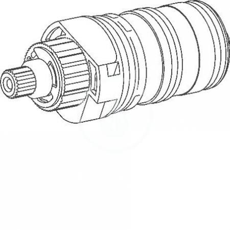 Náhradní díly Regulačná časť termostatu Hansa 3.3 (59913871)