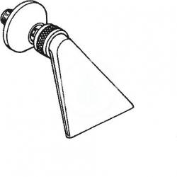 HANSA - Jet Prívalová sprcha, chróm (04400100), fotografie 2/2