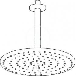 HANSA - Viva Hlavová sprcha, priemer 300 mm, chróm (44270300), fotografie 4/3