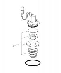 GROHE - Náhradní díly Magnetický ventil (42893000), fotografie 2/1