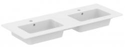 IDEAL STANDARD - Tempo Dvojumývadlo, 1215x450 mm, s prepadom, biela (E053401)