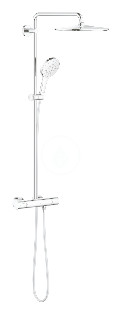 GROHE GROHE - Rainshower SmartActive Sprchový set 310 s termostatom, 9,5 l/min, 3 prúdy, chróm 26648000