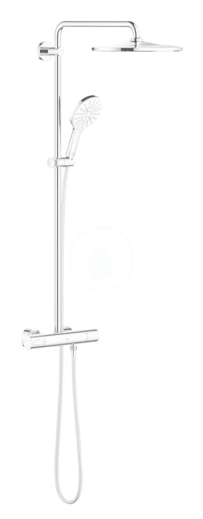 GROHE GROHE - Rainshower SmartActive Sprchový set 310 s termostatom, 9,5 l/min, 3 prúdy, mesačná biela 26648LS0