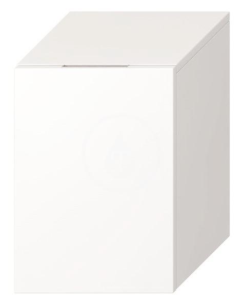 JIKA - Cubito Nízká skříňka, 320x322x472 mm, panty vpravo, bílá (H43J4201205001)