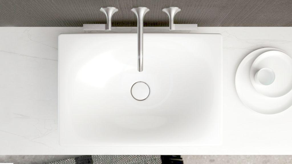 DURAVIT - Viu Umývadlová misa 600x415 mm, s WonderGliss, alpská biela (23586000001)