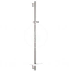 GROHE - Rainshower SmartActive Sprchová tyč s poličkou, 900 mm, Hard Graphite (26603A00)