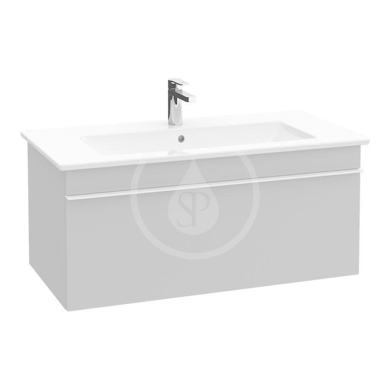 VILLEROY & BOCH - Venticello Umývadlo nábytkové 1200x500 mm, s prepadom, otvor na batériu, CeramicPlus, alpská biela (4104CLR1)