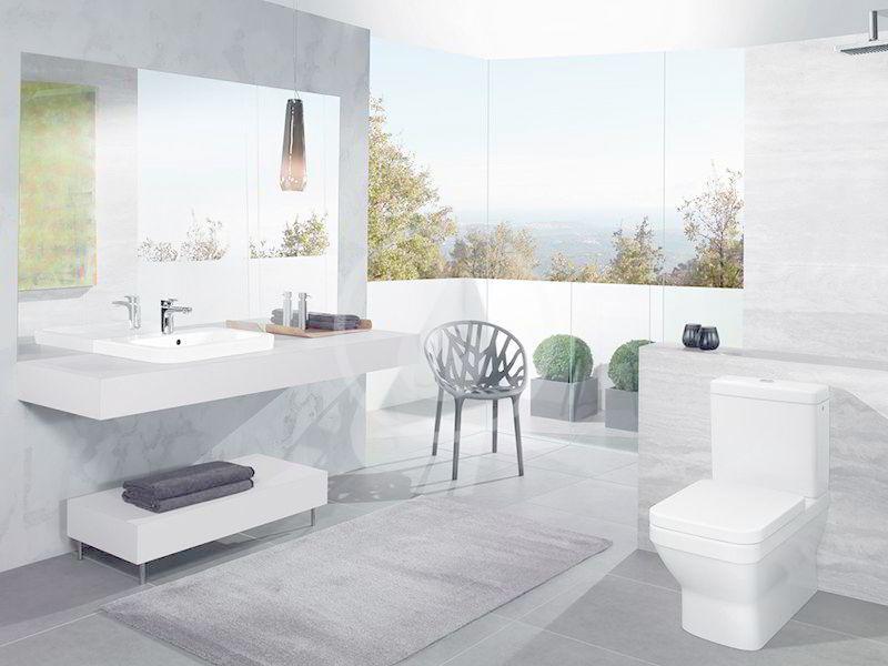 VILLEROY & BOCH - Architectura Umývadlo zápustné 550x430 mm, bez prepadu, otvor na batériu, alpská biela (41935601)