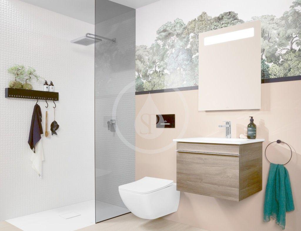 VILLEROY & BOCH - Venticello Závesné WC, DirectFlush, CeramicPlus, Stone White (4611R0RW)