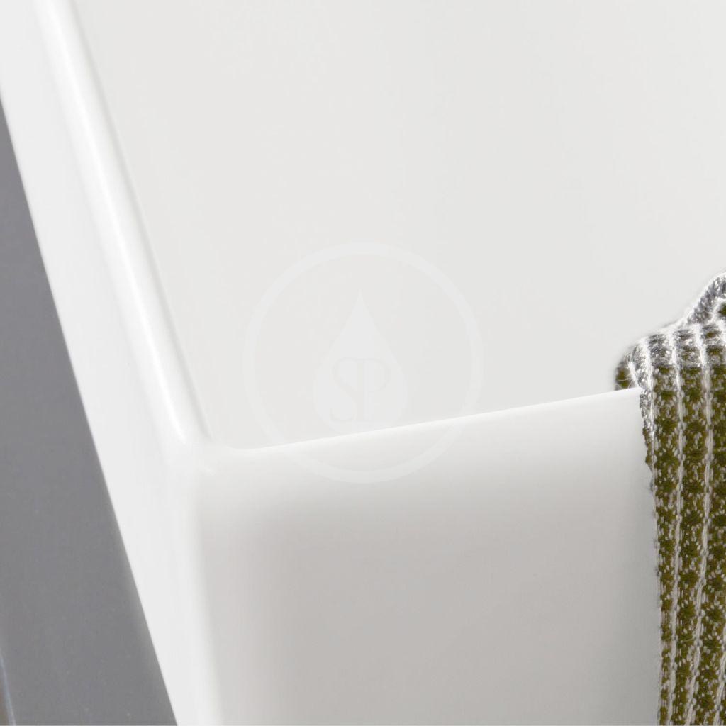 VILLEROY & BOCH - Memento 2.0 Umývadlo 500x420 mm, bez prepadu, bez otvoru na batériu, alpská biela (4A225301)