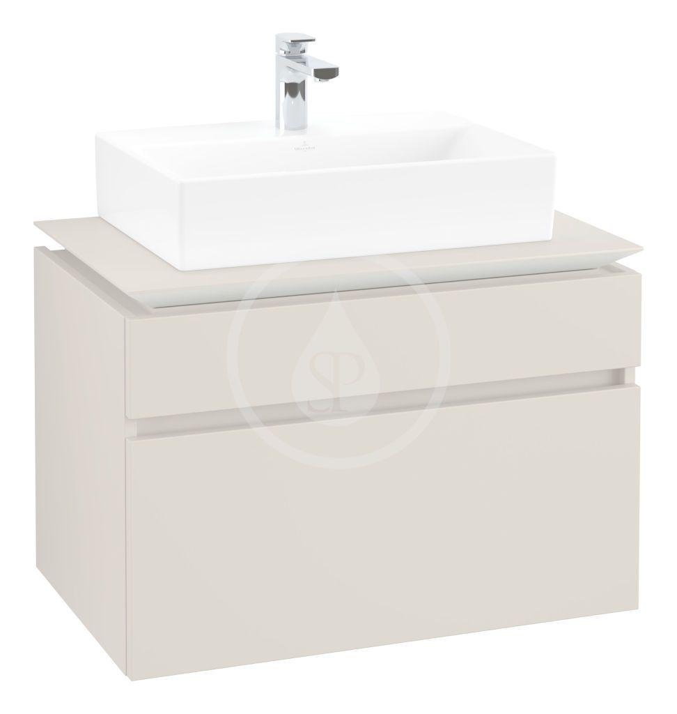 VILLEROY & BOCH - Memento 2.0 Umývadlo nábytkové 600x420 mm, s prepadom, otvor na batériu, CeramicPlus, alpská biela (4A226GR1)
