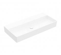 VILLEROY & BOCH - Memento 2.0 Umývadlo 1000x470 mm, bez prepadu, bez otvoru na batériu, alpská biela (4A22A301)