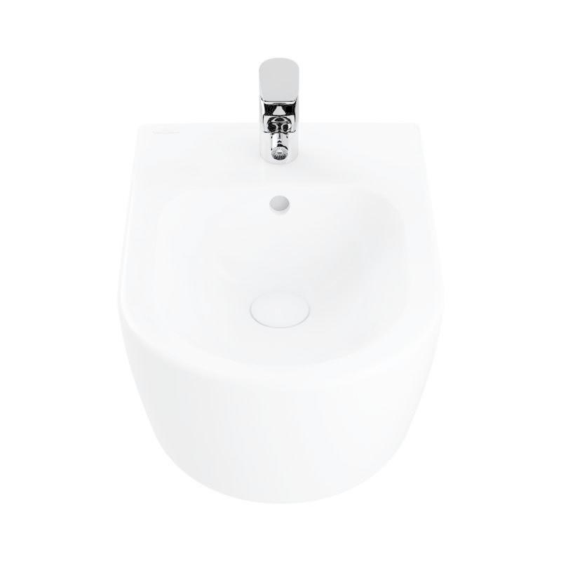 VILLEROY & BOCH - Avento Závesný bidet 530x370 mm, CeramicPlus, Stone White (540500RW)