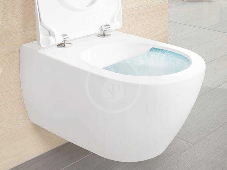 VILLEROY & BOCH - Subway 2.0 Závesné WC, DirectFlush, AntiBac, alpská biela (5614R0T1)