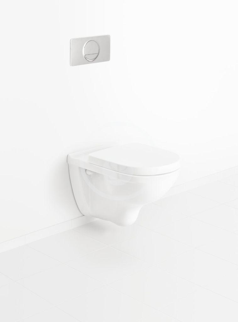 VILLEROY & BOCH - O.novo Závesné WC, AntiBac, alpská biela (566010T1)