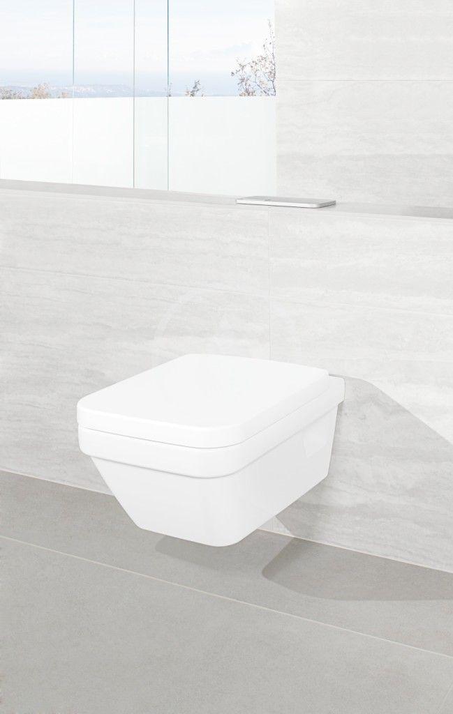 VILLEROY & BOCH - Architectura Závesné WC, zadný odpad, DirectFlush, AntiBac, alpská biela (5685R0T1)