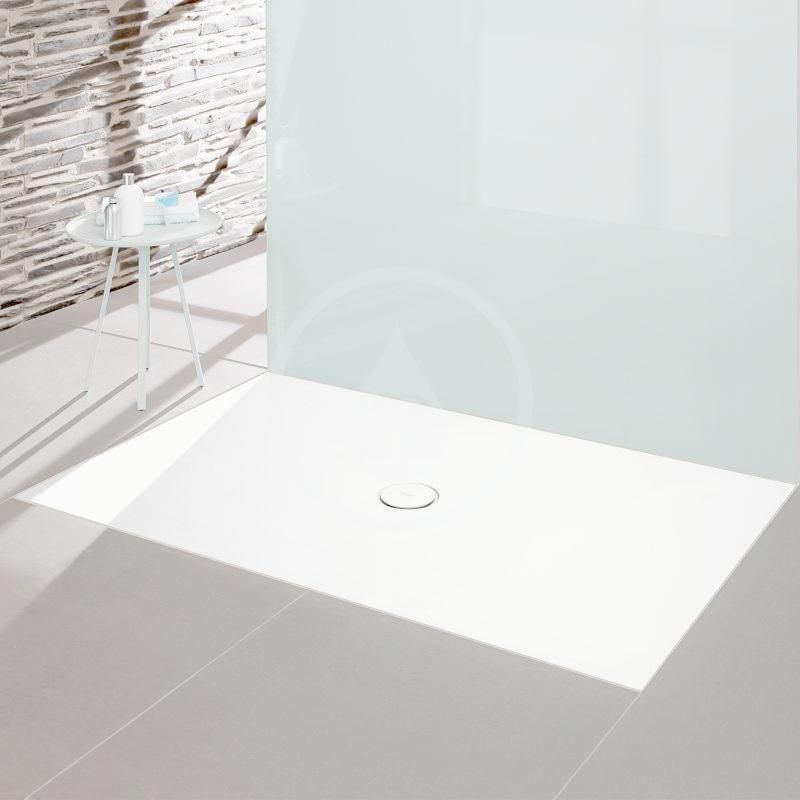 VILLEROY & BOCH - Subway Infinity Sprchová vanička, 700x900 mm, Anti-slip, alpská biela (6229H101)