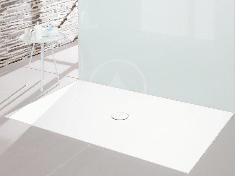 VILLEROY & BOCH - Subway Infinity Sprchová vanička, 700x1000 mm, Anti-slip, alpská biela (6229K101)