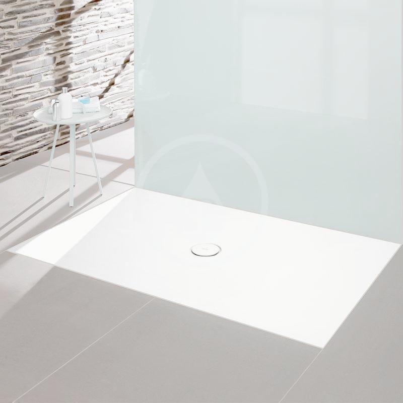 VILLEROY & BOCH - Subway Infinity Sprchová vanička, 700x1000 mm, Anti-slip, alpská biela (6230L101)