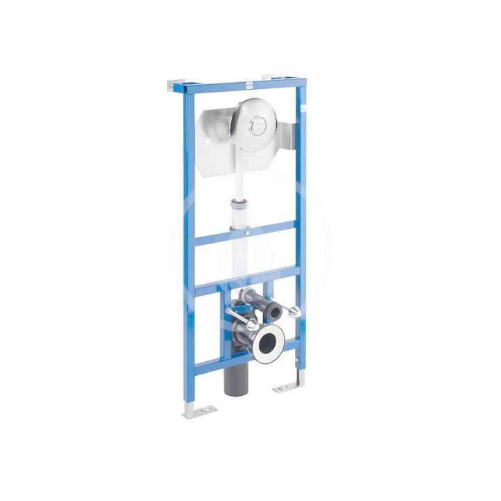 JIKA - Modul WC fluxor systém na závesné klozety so samonosným oceľovým rámom, 1120 mm x 296 mm x 4 mm H8936440000001