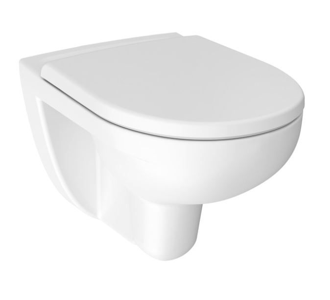 JIKA - Lyra plus Závesné WC, 530x360 mm, Rimless, biela H8213840000001