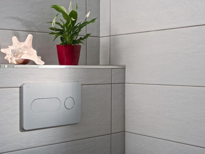 JIKA - Modul Ovládacie tlačidlo PL8, Dual Flush, lesklý chróm (H8936460040001)