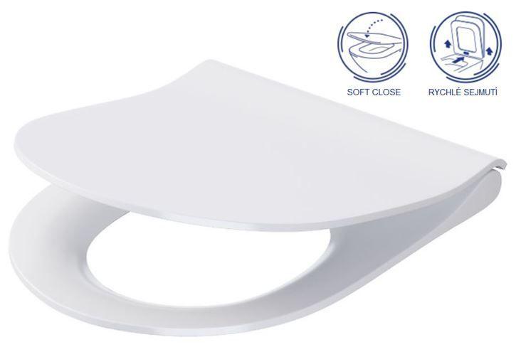 predstenový inštalačný systém bez tlačidla + WC CERSANIT CLEANON CITY (H895652 X CI1)