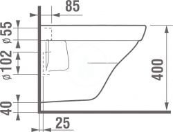 LAUFEN Podomít. systém LIS TW1 SET s bielym tlačidlom + WC JIKA TIGO + SEDADLO duraplastu RÝCHLOUPÍNACIE (H8946630000001BI TI1), fotografie 10/10