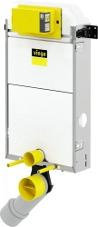 VIEGA Presvista modul PURE pre WC vrátane tlačidla Style 20 bielej + WC JIKA TIGO + SEDADLO duraplastu RÝCHLOUPÍNACIE (V771928 STYLE20BI TI1), fotografie 14/12