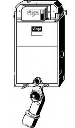 VIEGA Presvista modul PURE pre WC vrátane tlačidla Style 20 bielej + WC JIKA TIGO + SEDADLO duraplastu RÝCHLOUPÍNACIE (V771928 STYLE20BI TI1), fotografie 20/12