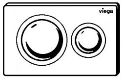 VIEGA Presvista modul DRY pre WC vrátane tlačidla Style 20 bielej + WC JIKA TIGO + SEDADLO duraplastu RÝCHLOUPÍNACIE (V771973 STYLE20BI TI1), fotografie 24/13