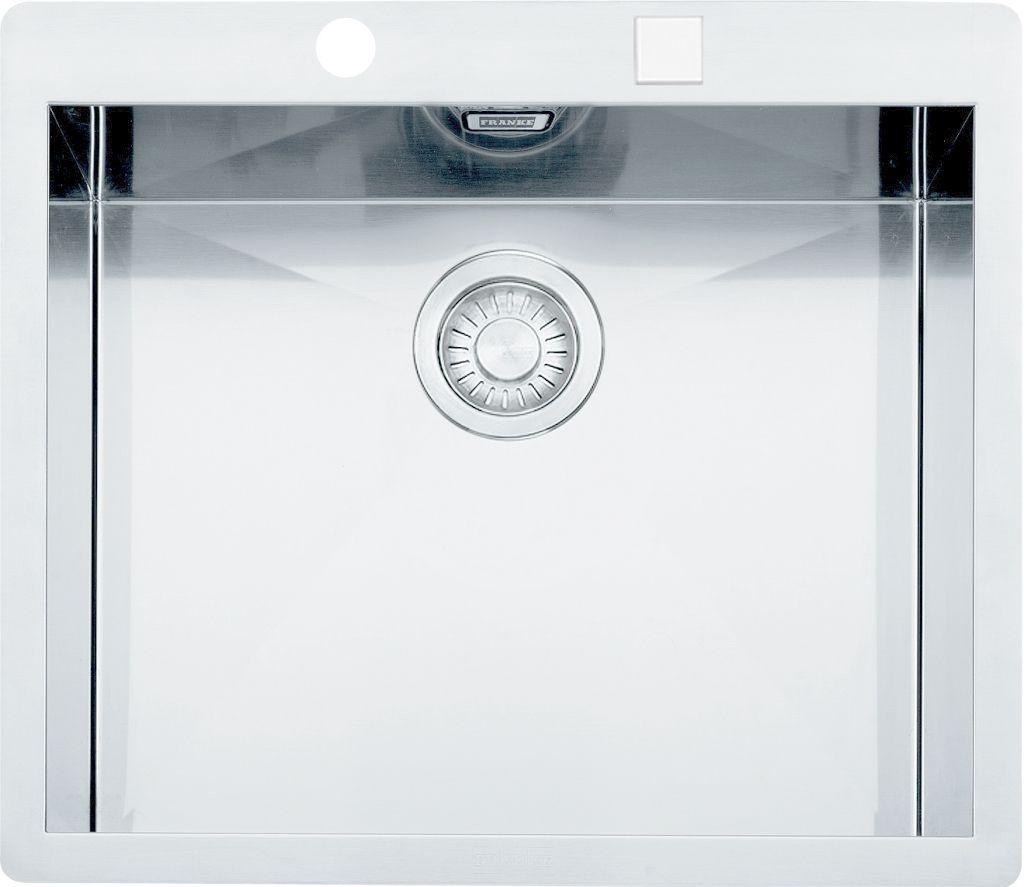 FRANKE FRANKE - Planar Drez PPX 210/610-58 TL z nehrdzavejúcej ocele, 580x512 mm + sifón 127.0203.469