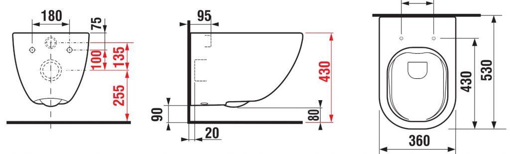 predstenový inštalačný systém bez tlačidla + WC JIKA MIO + SEDADLO SLIM Slowclose (H895652 X IO2)