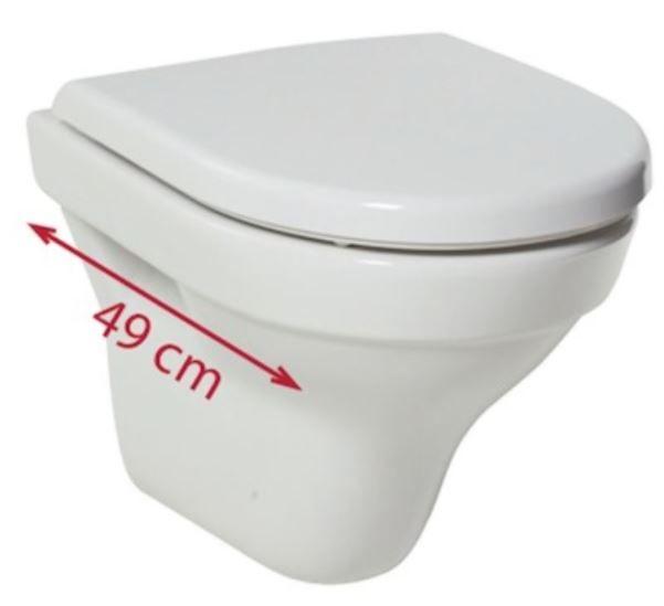 predstenový inštalačný systém bez tlačidla + WC JIKA TIGO + SEDADLO duraplastu RÝCHLOUPÍNACIE (H895652 X TI1)