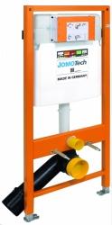 JOMOTech modul pre závesné WC bez sedátka + WC JIKA TIGO + SEDADLO duraplastu SLOWCLOSE (174-91100700-00 TI2), fotografie 4/12