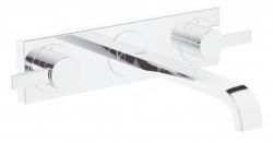 GROHE - Allure Umývadlová 3-otvorová batéria, chróm (20193000)