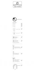SCHELL - Clean-Fix S Pružné flexi-hadičky, chróm (102220699), fotografie 2/1