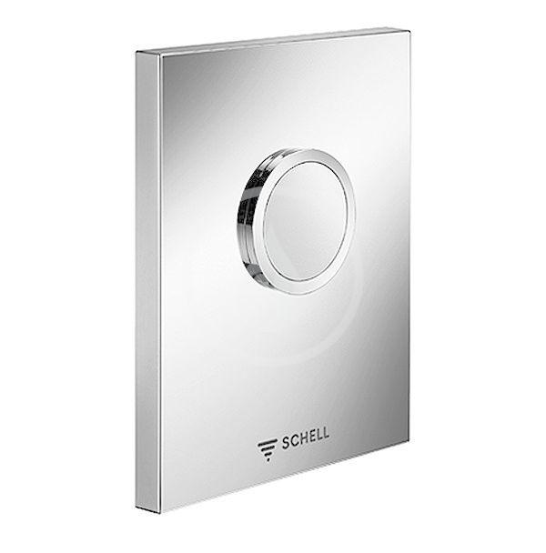 SCHELL - Compact II Ovládacia doska WC EDITION ND, nehrdzavejúca oceľ 028152899