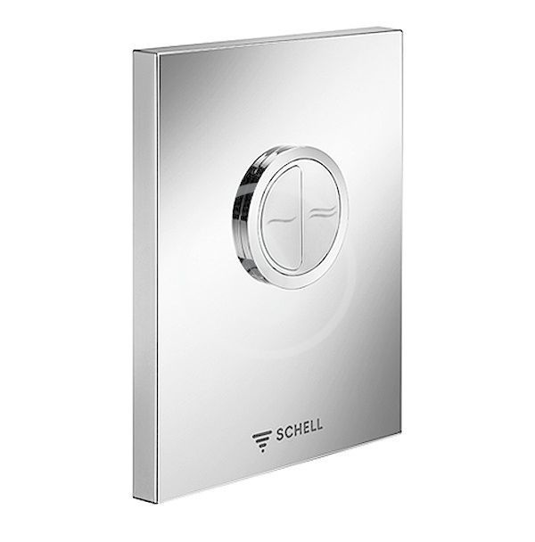 SCHELL - Compact II Ovládacia doska WC EDITION ECO ND, nehrdzavejúca oceľ 028142899