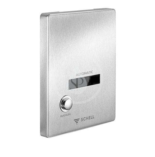 SCHELL - Compact II Ovládanie EDITION E MANUAL, batériové napájanie, nehrdzavejúca oceľ 015462899