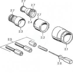 HANSA - Příslušenství Predlžovacia súprava 35 mm (59911438), fotografie 2/2