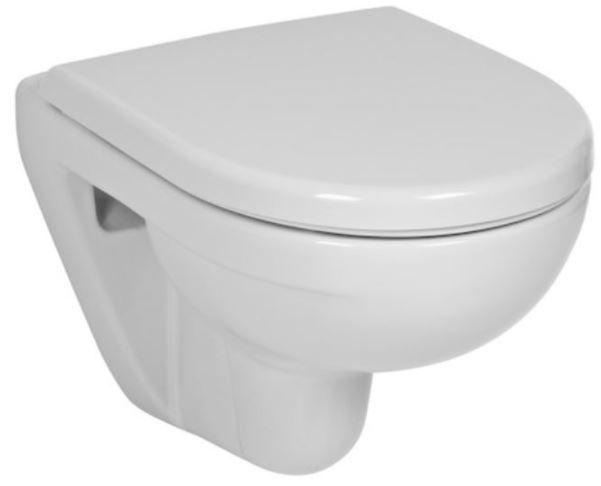 predstenový inštalačný systém bez tlačidla + WC JIKA LYRA PLUS 49 + SEDADLO duraplastu SLOWCLOSE (H895652 X LY4)