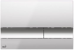 ALCAPLAST Jádromodul - predstenový inštalačný systém s chrómovým tlačidlom M1721 + WC JIKA TIGO + SEDADLO duraplastu SLOWCLOSE (AM102/1120 M1721 TI2), fotografie 24/13
