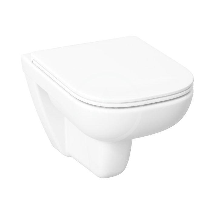 JIKA - Deep Závesné WC, Rimless, biela H8206140000001