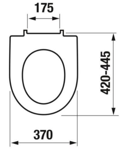 predstenový inštalačný 8 cm systém bez tlačidla + WC JIKA LYRA PLUS RIMLESS + SEDADLO duraplastu SLOWCLOSE (H894652 X LY2)