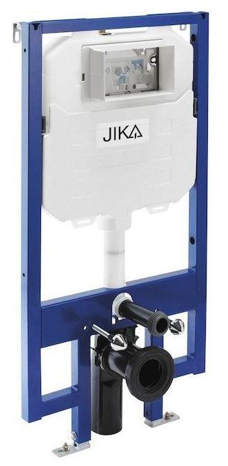 predstenový inštalačný 8 cm systém bez tlačidla + WC JIKA LYRA PLUS 49 + SEDADLO duraplastu SLOWCLOSE (H894652 X LY4)