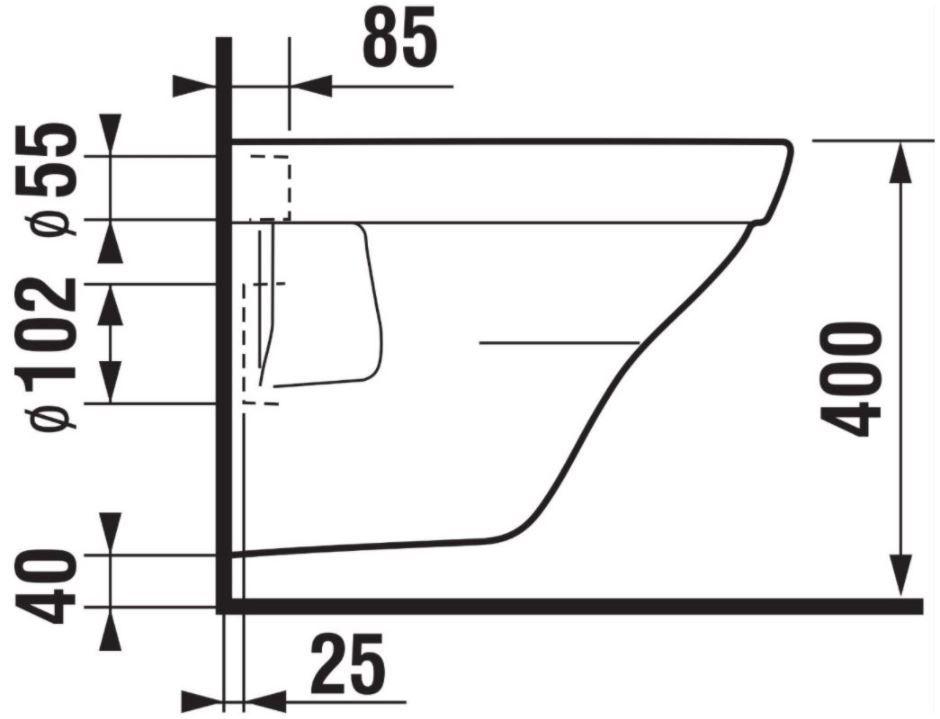 predstenový inštalačný 8 cm systém bez tlačidla + WC JIKA TIGO + SEDADLO duraplastu SLOWCLOSE (H894652 X TI2)