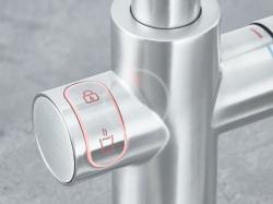 GROHE - Red Drezová batéria Duo s ohrevom vody a filtráciou, zásobník L, supersteel (30325DC1), fotografie 12/8